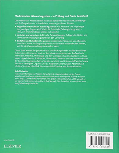 Die Heilpraktiker-Akademie. Endokrinologie mit Stoffwechsel: Mit Zugang zur Medizinwelt
