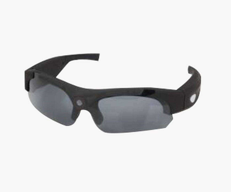 1080P Videokamera Brille, polarisierte Sonnenbrille HD Kamera Bergsport-Sportbrillen,B
