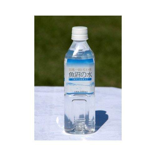 『[超軟水なので飲みやすい!] 日本一おいしい水 魚沼の水 500mlペットボトル×24本入』の1枚目の画像