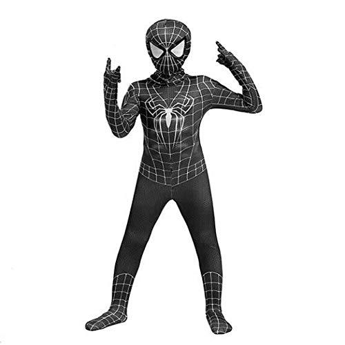 Harry Shops Halloween The Amazing Spider-Man Kids Cosplay Costume Black