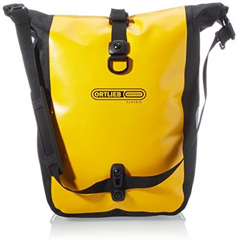 Ortlieb Unisex-Adult Sport-Roller Classic Bike Bags, sunyellow - Black, One Size