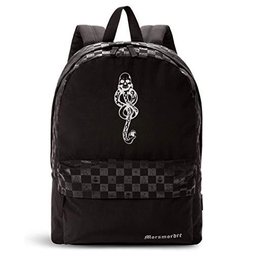 Vans Off The Wall Men's X Harry Potter Dark Arts Backpack Bag, Black
