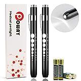 Opoway Nurse Penlight with Pupil Gauge LED Medical Pen Lights for...