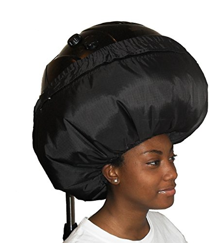 Cool Cap Bonnet Soft Nylon Hood Hair Dryer Attachment (Hair dryer not included)