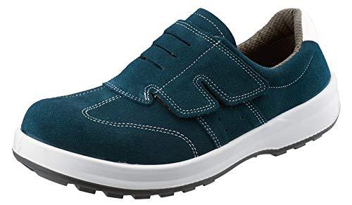 Simon 安全靴 作業靴 シモンスター SS18 BV 牛革 ベロア 紺色 29cm
