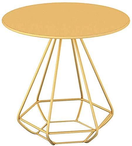 LQ Side End Table Meubles de salle End Tables en métal Côté Morden Canapé basse ronde Lampe de chevet Art Déco Casse-croûte Décoration d'intérieur Styles Proportions délicat Fer tables basses