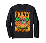 Furby Halloween Party Animal Manga Larga