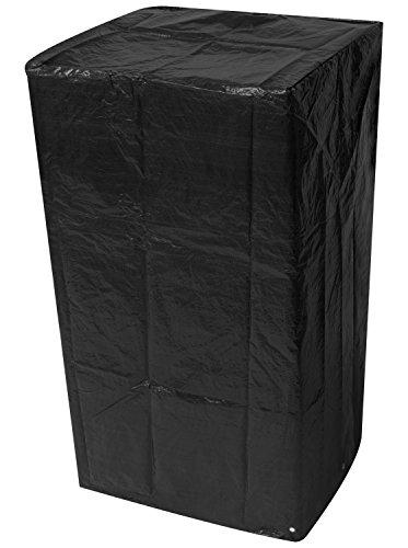 Woodside - Bâche pour chaises de Jardin empilables - étanche - Noir