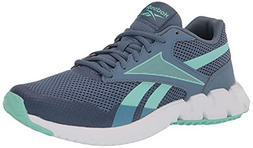Reebok Women's ZTAUR Running Shoe, Blue Slate/Pixel Mint/White, 7.5
