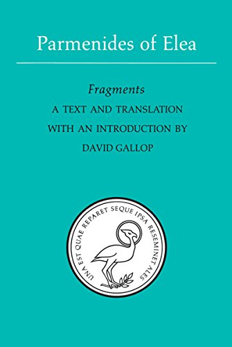 Parmenides of Elea: A text and translation with an introduction (Phoenix Presocractic Series)