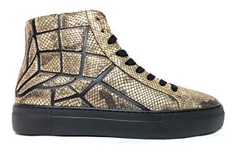 Just Cavalli, S08WS0121 - Zapatillas altas Dorado Size: 43 EU