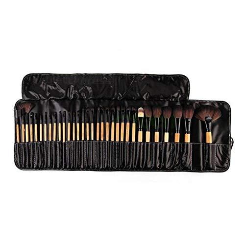 Generies 32 Stück/Set Professioneller Make-Up Pinsel Foundation Lidschatten Lippenstift Puder Make-Up Pinsel Werkzeugsack Set