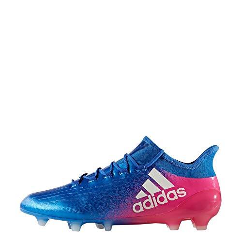 adidas X 16.1 Fg, Scarpe da Calcio Uomo, Blu (Azul/Ftwbla/Rosimp), 44 2/3 EU