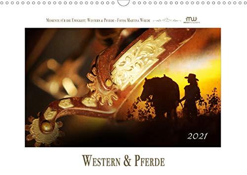 Western und PferdeCH-Version (Wandkalender 2021 DIN A3 quer)