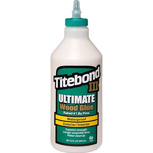Titebond ZL-141/5 Ultimate Holzleim für den Innen und Außenbereich, wasserfest, 946 ml