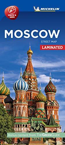 Plano Moscú laminated (Planos Michelin)