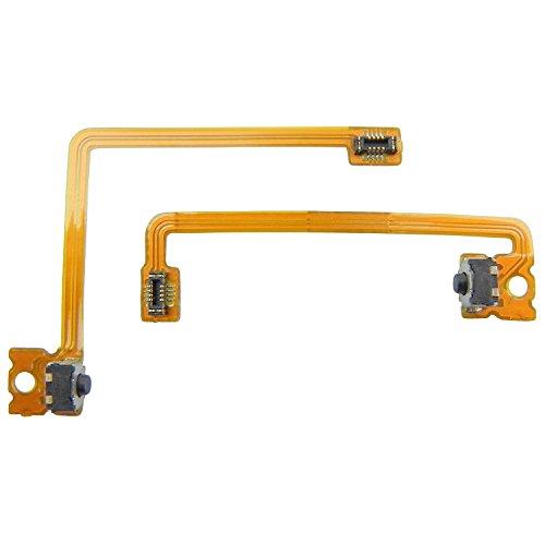 ToKa-Versand® - Tasten für Nintendo 3DS XL Schultertasten Schulter taste L und R Schalter Kabel Flexkabel Flachbandkabel