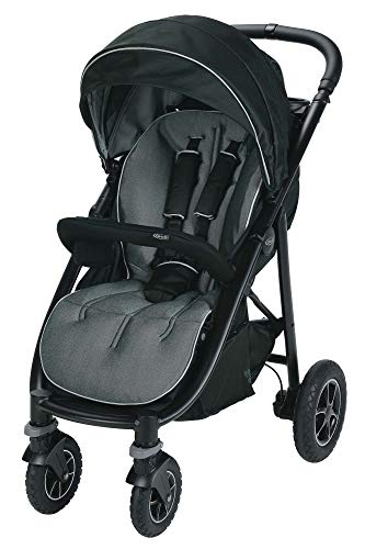 Graco Aire4 Platinum Stroller | Lightweight Baby Stroller, Tuscan