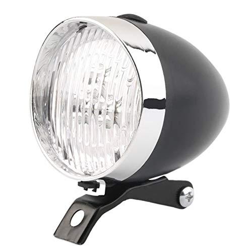 3 LED Vintage Ultra Bright Flashlight Light Lamp Bicycle Headlight Bike Front Light Safe Night Cycling Bike Accessory