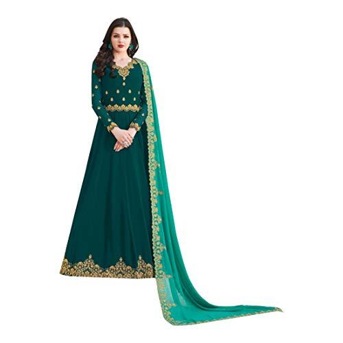 ETHNIC EMPORIUM Designer New Anarkali Kameez Salwar Suit Kleid Kleidungsstil Anzug Mit Dupatta Party Wear Maxi Kleid Ethics Indian for Women...