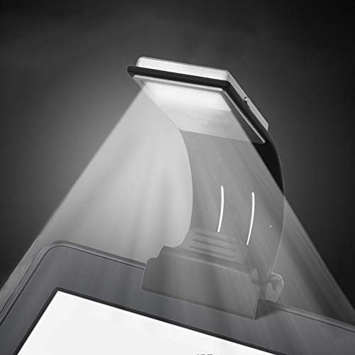 Book Light, LED Reading Lamp USB Rechargeable Flexible Night Light 4 Level Brightness 360°Adjustable Clip on Work/Desk/Bed Lights for Amazon Kindle / eBook Reader / Book / iPad