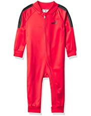 PUMA boys Athletic Hoodie Coverall Baby and Toddler Footie