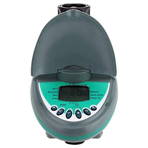 LIPENLI Controlador del Sistema Temporizador Inicio automático Inteligente LCD Controlador de Pantalla Temporizador de riego de jardín de riego de riego