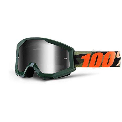 100% 50410-234-02 Strata Huntsitan Masque de Vtt Vert