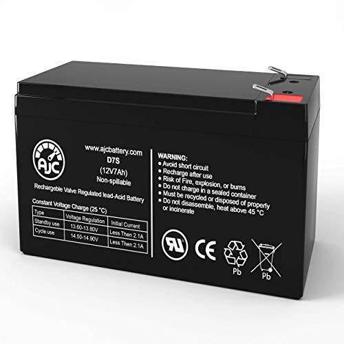 Batería de SAI de 12V 7Ah HP UP6003-2 - Es un Recambio de la Marca AJC®