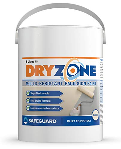 Dryzone Anti Mould Paint 5L – Mould Resistant for 5 Years (Magnolia)