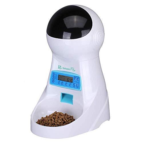 UMEI 3litre Comederos automáticos de Mascotas para Perros y Gatos Temporizador y Función de Grabación de Sonido