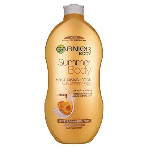 Garnier kropp sommar kropp fuktgivande lotion solkysst utseende, 400 ml