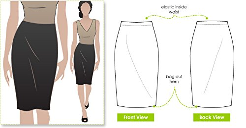 Style Arc Sewing Pattern - Fay Skirt (Sizes 04-16) - Click for Other Sizes Available