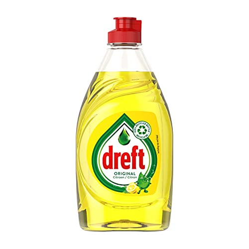 Dreft - Líquido lavavajillas de limón para lavarse las manos - 390 ml