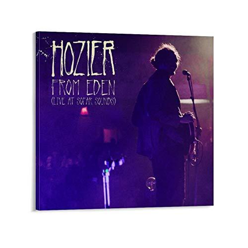 XYDQ Póster de Hozier From Eden Live At Sofar Sounds, impresión artística de pared moderna para dormitorio familiar 70 x 70 cm