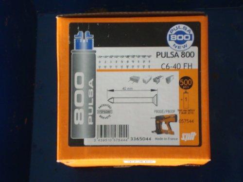 ITW Spit Nägel für Pulsa 800 C6-40 (VE500)#057544 Nagel 3439510575444