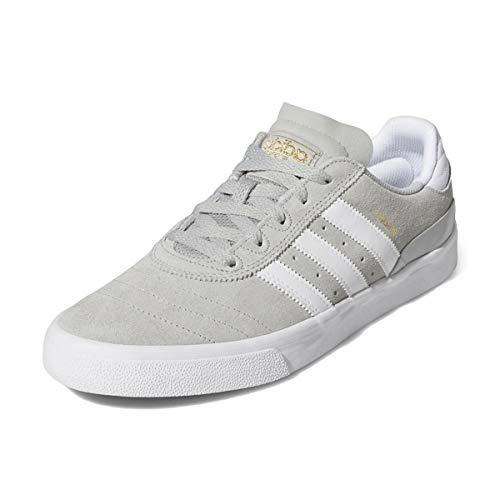 adidas Busenitz Vulc Schuh - Gretwo/White/Gold Größe: 10.5 Farbe: Gretwo/White/Gold