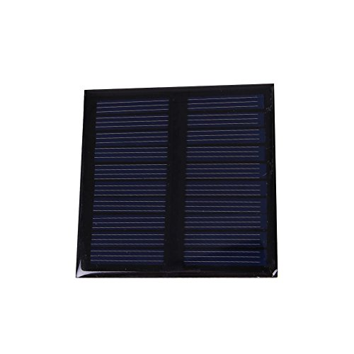 LIAWEI 0.45W 5V Mini Solar Panel Polycrystalline Silicon Lightweight and Compact Solar Panel,Solar Power Energy, DIY Home, Garden Light, Science Projects