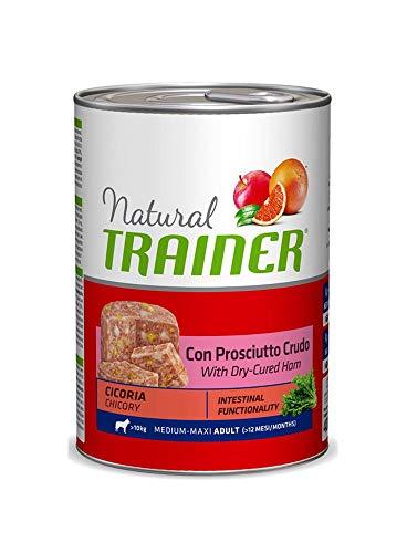 Trainer Natural Dog Adult Medium Maxi jambon et chicorée 400 gr