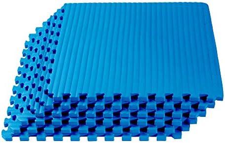We Sell Mats 3 4 Inch Thick Martial Arts EVA Foam Exercise Mat Tatami Pattern Interlocking Floor product image