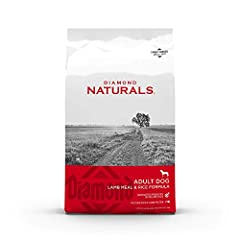 HIGH quality PROTEIN made with real PASTURE RAISED lamb, tailored for adult dogs to thrive; optimal amino acid profile for LEAN, STRONG MUSCLES Premium ingredients with added vitamins & minerals; fruits and vegetables as SUPERFOODS for hard-working A...