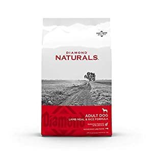 Diamond Naturals Adult Real Meat Recipe Premium Dry Dog Food With Real Pasture Raised Lamb Protein 6Lb