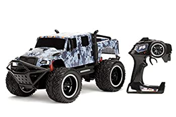 Jada Toys Fast & Furious 1 12 Hobbs s MXT Elite Off-Road RC Remote Control Car 2.4 GHz Toys for Kids and Adults Blue 99005
