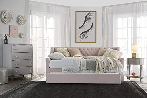 Trundle beds are among the best beds for small bedrooms because they offer seating and sleeping in one.
