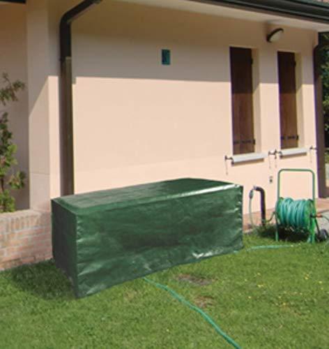 F-U Telo Copertura Pesante per mobili Giardino in Poliestere Resistente intemperie (Tavolo 120x90)