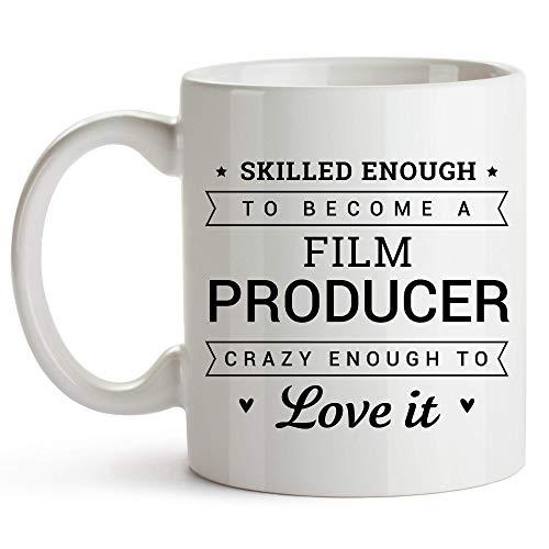 Taza té cerámica uso prolongado Productor de cine Productor de cine Taza bebida café Regalo