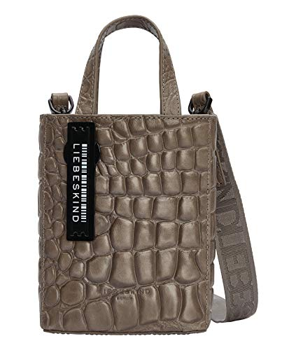Liebeskind Berlin 2056953004, Tote Extra Mujer, Color gris, X-Small
