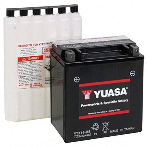 Yuasa YUAM32X6S YTX16-BS Battery, multi-colored