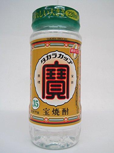 宝焼酎 タカラカップ 35度 220ml