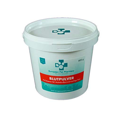 European Pet Pharmacy Blutpulver – Muskelaufbau & Energie 800 Gramm (800 Gramm)